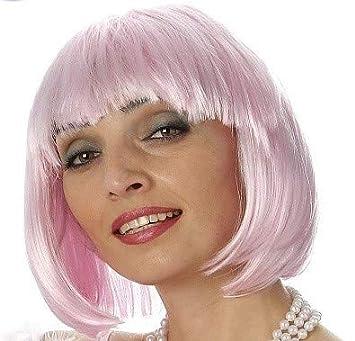 Lote/Conjunto DE 12 Piezas - Peluca Rosa del Cabaret