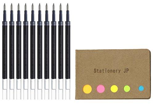 - Uni-ball UMR-85N Refills for Gel Ink Ballpoint Pen, 0.5mm, Black Ink, 10-Pack, Sticky Notes Value Set