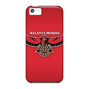 Top Quality Protection Nba Atlanta Hawks 3 Case Cover For Iphone 5c