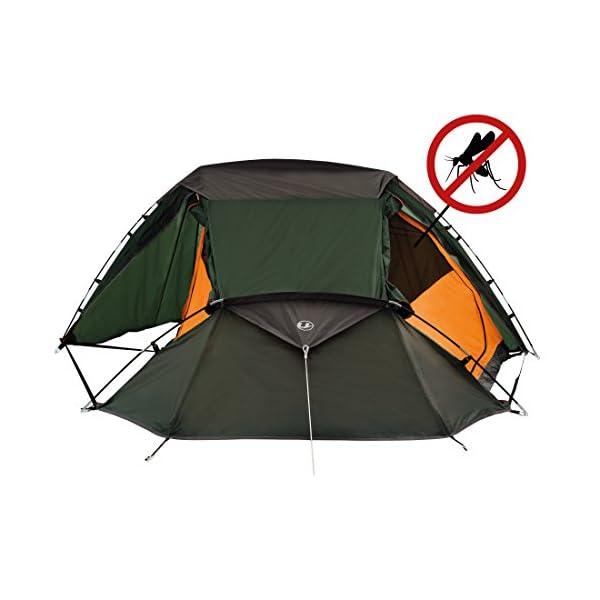 Ultrasport Tienda de campaña adecuada para festivales, camping y trekking, se entrega con bolsa de transporte… 1