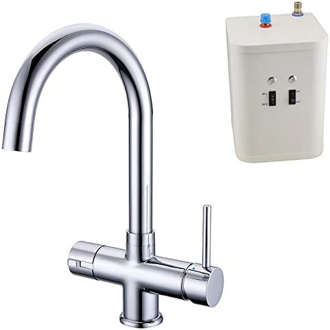 Instant Hot Water Kitchen Tap 3 in 1 Cold / Hot Water & Heating Unit