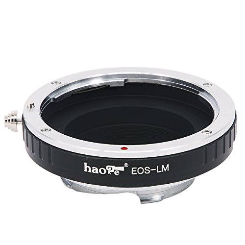Haoge Lens Mount Adapter for Canon EOS EF Lens to Leica M LM Mount Camera Such as M240, M240P, M262, M3, M2, M1, M4, M5, M6, MP, M7, M8, M9, M9-P, M Monochrom, M-E, M, M-P, M10, M-A
