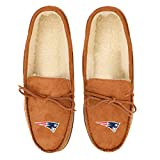 New England Patriots NFL Mens Team Logo Moccasin