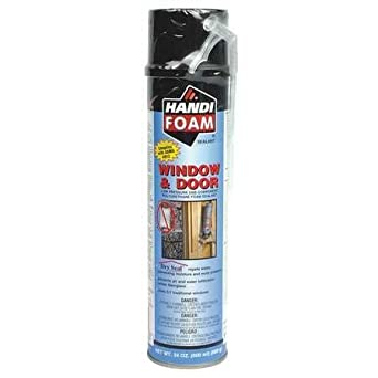 Straw Foam Sealant Window and Door 24 oz