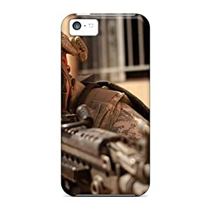 AMzon Snap On Hard Case Cover Military Sniper Protector For Iphone 5c