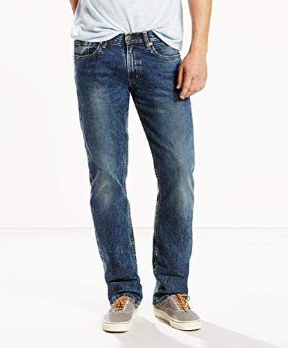 Levi's Men's 514 Straight fit Stretch Jean, Black Stone, -
