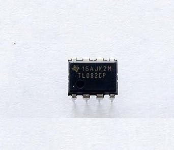 10pcs TL082 DIP8 IC amplificadores operacionales jfet-input ...