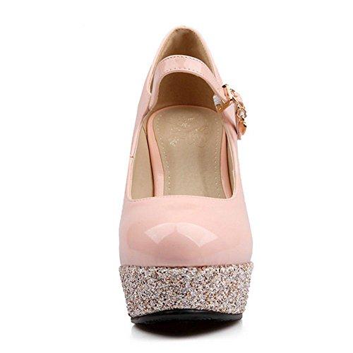 Zapatos Mujer Mode Pink Tacon Zanpa qaxfwvpU