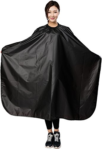 All Purpose Styling Chemical Hair Cutting Cape, Salon Barber Stylist Coloring Shampoo Waterproof Clients Gown Smock Capes