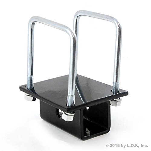 RV Square Bumper for Bike Cargo Carrier Hitch Receiver Adapter Mount on RV Travel Trailer Coachman For 4