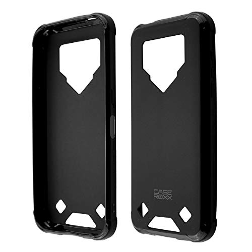 caseroxx TPU-Case for Blackview BV9800 / BV9800 Pro with Shock Protection, Colored in Black, Composed of TPU