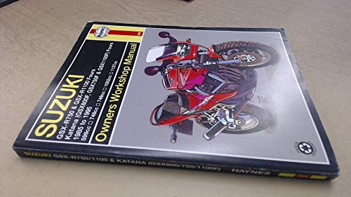 Suzuki GSX-R & Katana (GSX-F) owners workshop manual (Haynes owners workshop manual series)