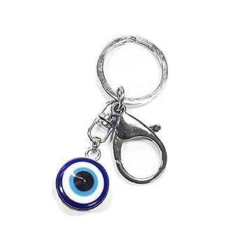 Turco azul llavero de cristal ojo turco Nazar bongucu ojo ...