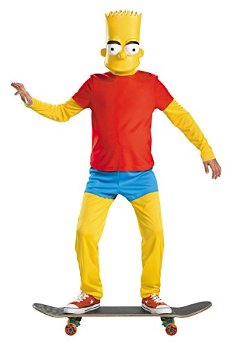 Bart Simpson Deluxe Child Costume - Large ()