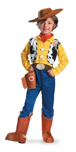 5234 (4-6) Kids Woody Costume W Hat (Cowboy Boot Spats)