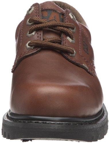 CAT Falmouth - Zapatos con cordones para hombre Marrón