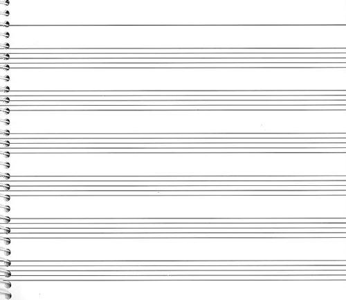 73. Spiral Book 6-stave: Passantino Manuscript Paper (Passantino Manuscript Papers) - Passantino Music Papers