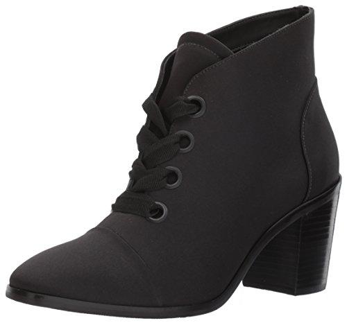 Bernardo Womens Faye Fashion Boot Black Satin