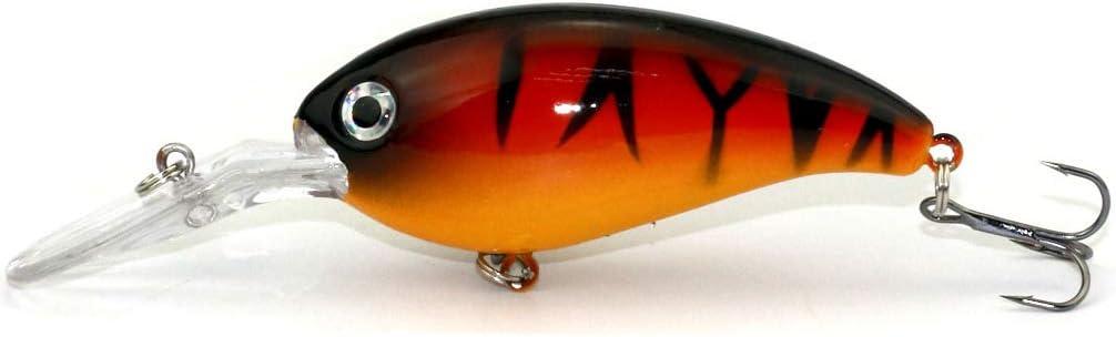 Details about  /1pc 7.8g//5.6cm Hard Minnow Wobbler Fishing Lure Artificial Bait Crankbait