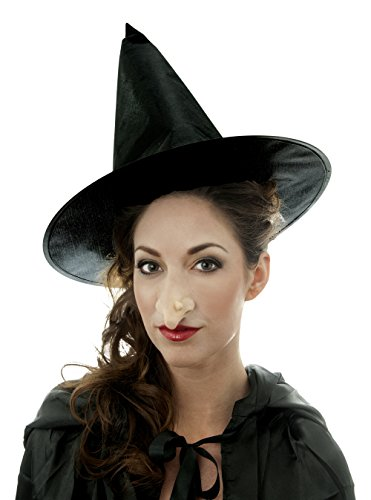 [Woochie by Cinema Secrets Witch Nose Latex Appliance- Large, Multi, One Size] (Nose Witch Woochie)