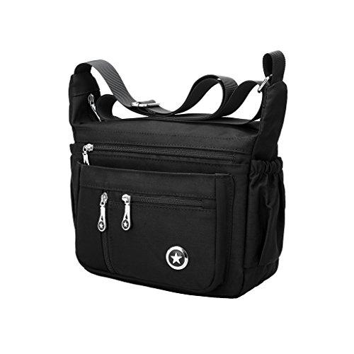 Messenger Bag Purse Handbag - 3