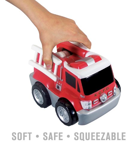 Kid Galaxy My First RC Fire Truck. Toddler Remote Control Toy, Red, 49 MHz