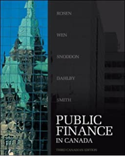 Public finance in canada harvey s rosen jean francois wen public finance in canada fandeluxe