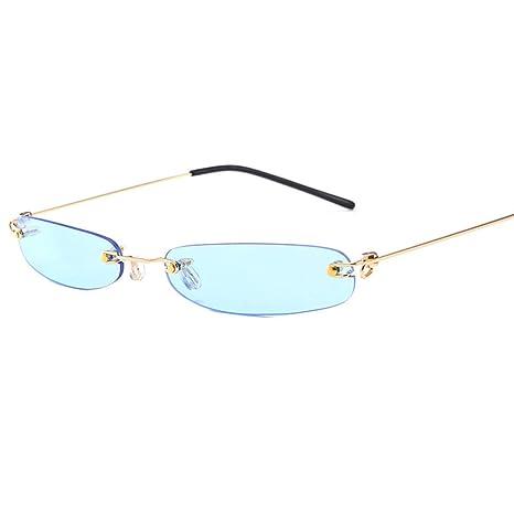 Yangjing-hl Gafas de Sol Europa y América Personalidad Gafas ...