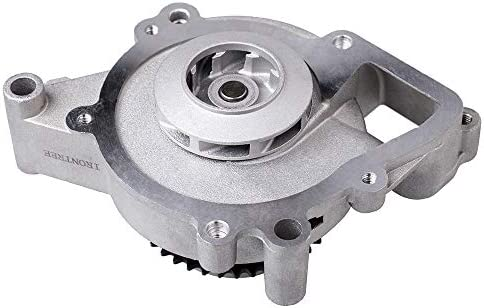 IRONTREE AW5092 Professional Water Pump Kit with Sprocket Retainer And Gasket for GM Chevrolet Impala Malibu GMC Terrain Pontiac G6 Buick Saturn 2.0L 2.2L 2.4L L4 Engine OE Replacement #12586567