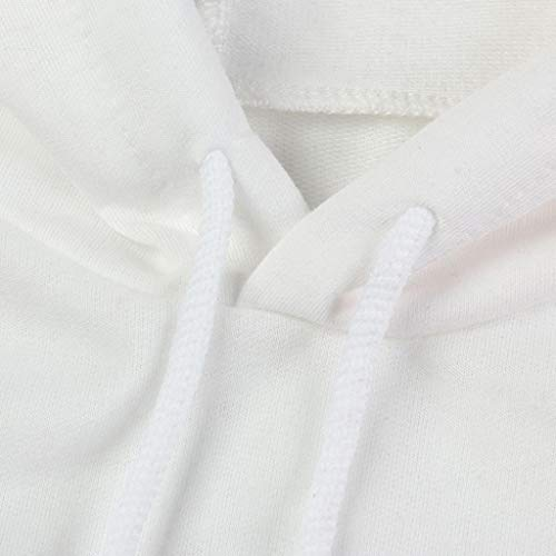 WomensClothing, KIKOY Off Shoulder Long Sleeve Hoodie Pullover Tops by Kikoy womens tops (Image #5)