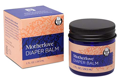 Motherlove - Diaper Balm, Antifungal & Antibacterial Herbs, Soothes Baby's Irritated Bottom, Cloth Diaper Safe Ointment, Free of Zinc Oxide & Petroleum, Formerly Known as Diaper Rash & Thrush, 1 oz. ()