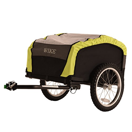 Wike City Cargo Bicycle Trailer Black/Lime