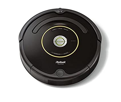 iRobot Roomba 650 Staubsaugroboter (33 W, hohe Reinigungsleistung, Reinigung nach Ihrem Zeitplan, geeignet bei Tierhaaren) schwarz