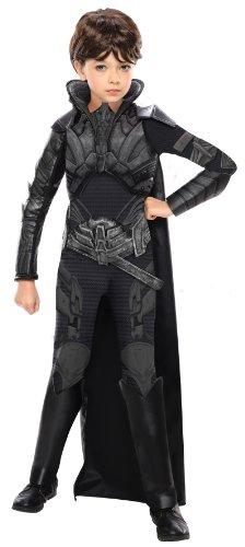 Man of Steel Deluxe Child's Faora Costume,