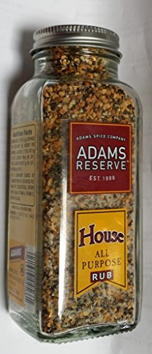 - Adams Reserve House Rub, All Purpose 6.91 Oz (Pack of 2)