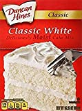 Duncan Hines Classic White Deliciously Moist Cake Mix 15.25 Oz. Pk Of 3.