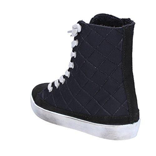 2Star ,  Mädchen Hohe Sneaker Schwarz