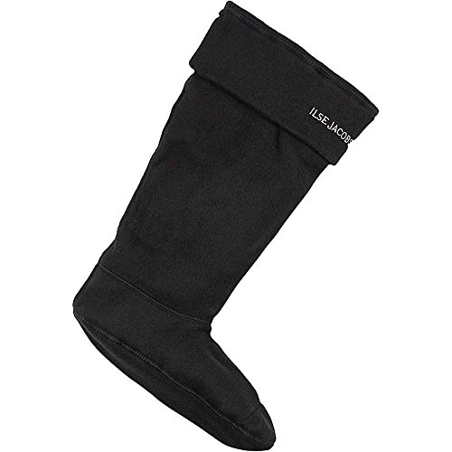 Ilse Jacobsen Womans Socks Black/Beige For 3/4 Boots * pHqLEee