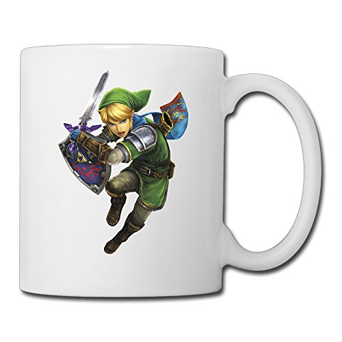 Dlc Costumes Hyrule Warriors (ACT Hyrule Warriors Legends Linkle Custom Coffee/Tea Mug Duplex Print)