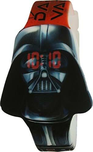 Disney Boy's Star Wars SWCKD16001 Black Plastic Quartz Fashion Watch