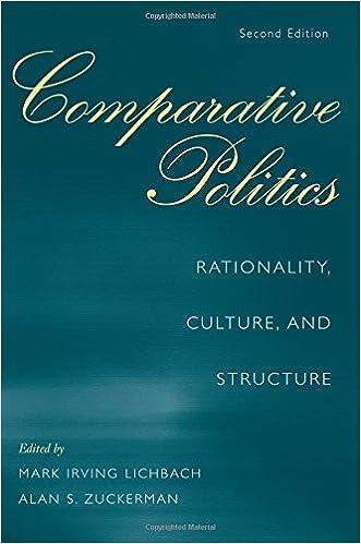 Ebook gratis herunterladen pdf italiano Comparative Politics: Rationality, Culture, and Structure, 2nd Edition (Cambridge Studies in Comparative Politics) 0521712343 PDF PDB