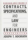 img - for Dunham and Young's Contracts, Specifications, and Law for Engineers by Joseph Bockrath (1986-01-03) book / textbook / text book
