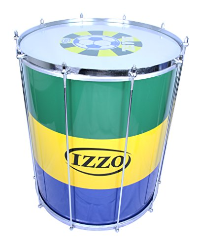 IZZO 9751 Aluminium Surdo with World Cup Drumhead