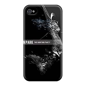 Protector Hard Phone Cover For Iphone 4/4s With Customized Attractive Linkin Park Image LauraAdamicska