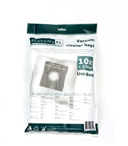 10 Staubsaugerbeutel für Clatronic BS 1243
