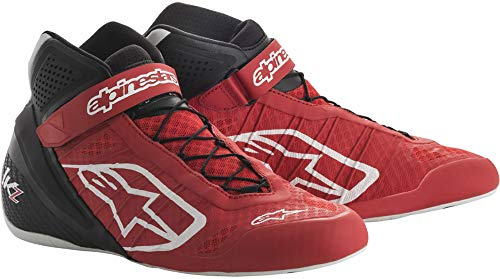 Alpinestars Tech 1-KZ Karting Shoes (Size: 10, Red/Black) - Karting Shoes