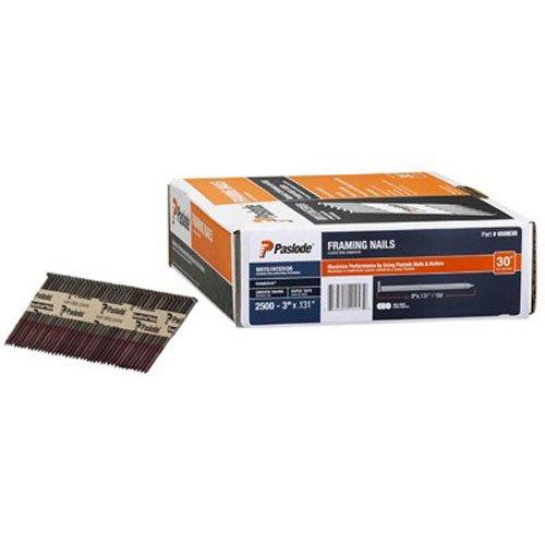 Paslode - 650830 3'' x .131 30 Degree Brite Smooth RounDrive Framing Nail
