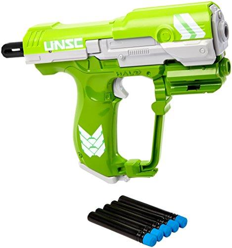 BOOMco. HALO UNSC M6 Blaster, Green (Master Chief Gloves)