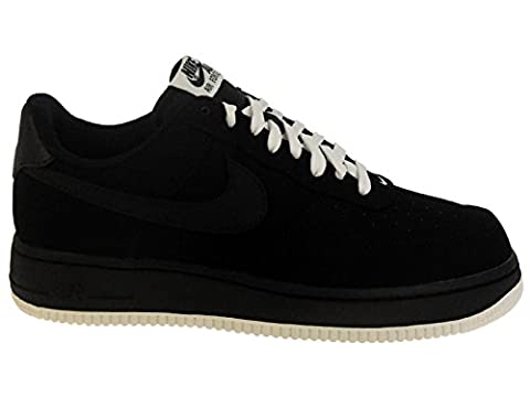 Nike Men's Air Force 1 Low Black/Sail/Black Leather Casual Shoes 11.5 M US