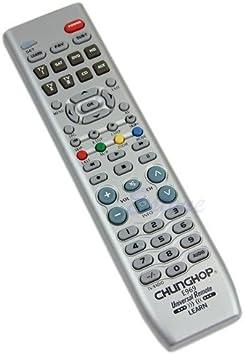 Mando a distancia Universal para Televisión (TV, TV 2, TV3, HD, SAT, DVD, CD, AUX) 8 en 1 …: Amazon.es: Electrónica